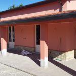 Clinica Veterinaria in cementolegno BetonWood su struttura metallica