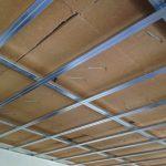 Controsoffitto ad elevato isolamento acustico in fibra di legno Fibertherm
