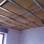 Controsoffitto in fibra di legno flessibile Fibertherm Flex
