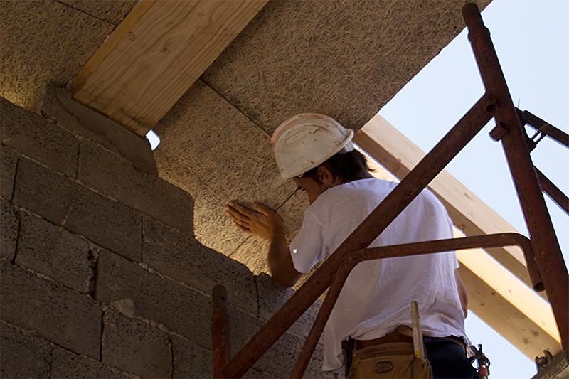 Tetto in Cementolegno e Fibra di legno