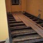 Massetto Radiante Betonradiant su antico solaio in legno