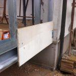 Parete a secco in cementolegno Betonwood N su struttura metallica