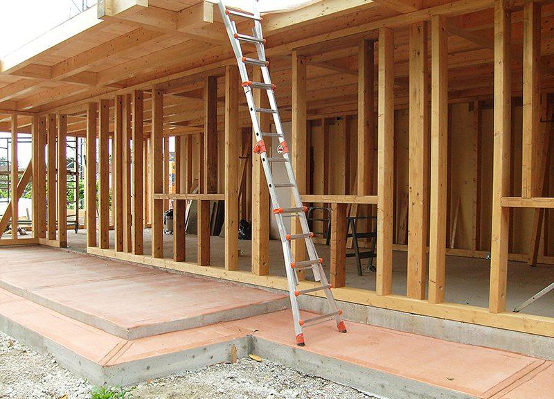 Casa in cementolegno BetonWood su telaio in legno