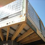 BetonWood su Platform frame