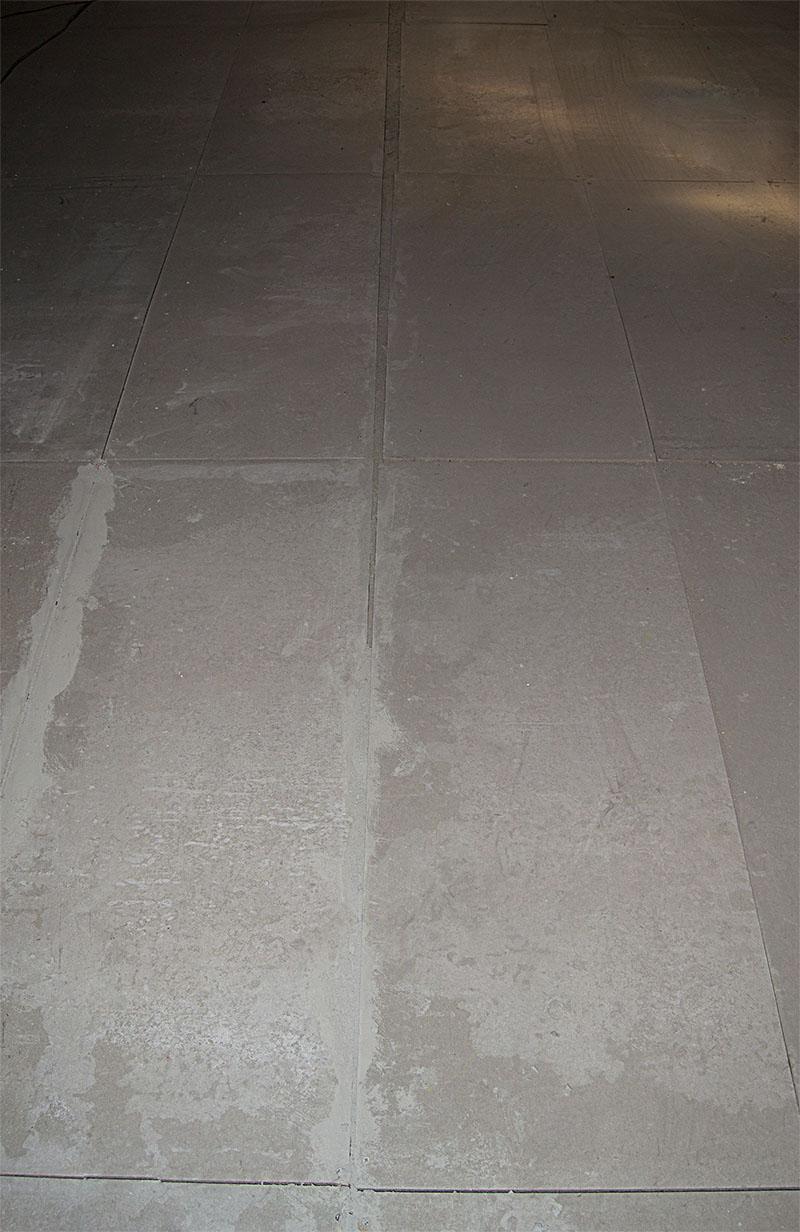 Massetto a secco in cementolegno