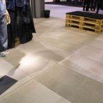 Allestimento Pitti Uomo 2015 in cementolegno