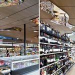 Allestimento Supermarket Cementolegno Arredo